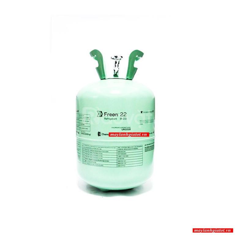 Thành Đạt phân phối sỉ và lẻ gas lạnh Chemours Freon: R22, R507a, 134A
