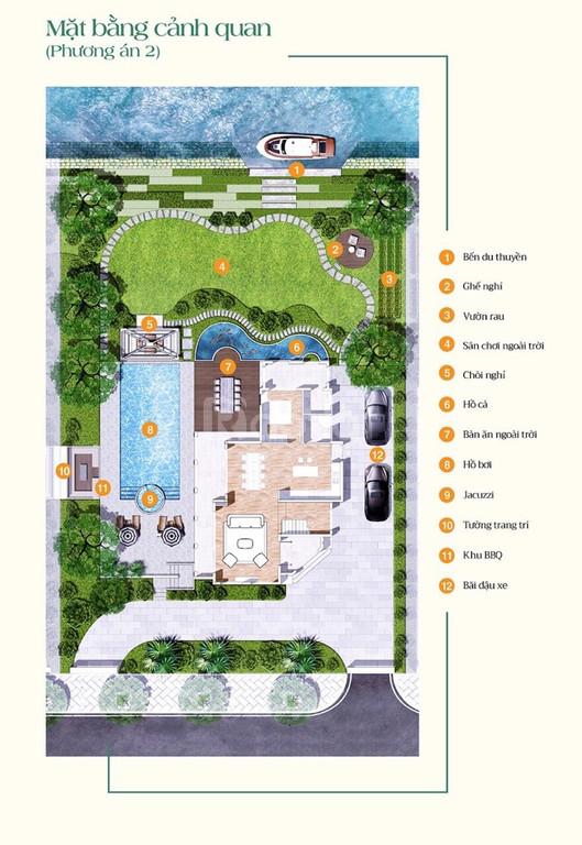 Biệt thự vườn sinh thái quận 9 - Sai Gon Garden Riverside Village