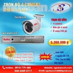 Trọn bộ 8 camera Global full HD 2.0M (Giá 9.850.000).