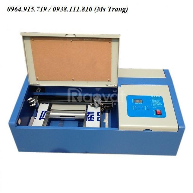 Máy laser mini 3020 khắc dấu