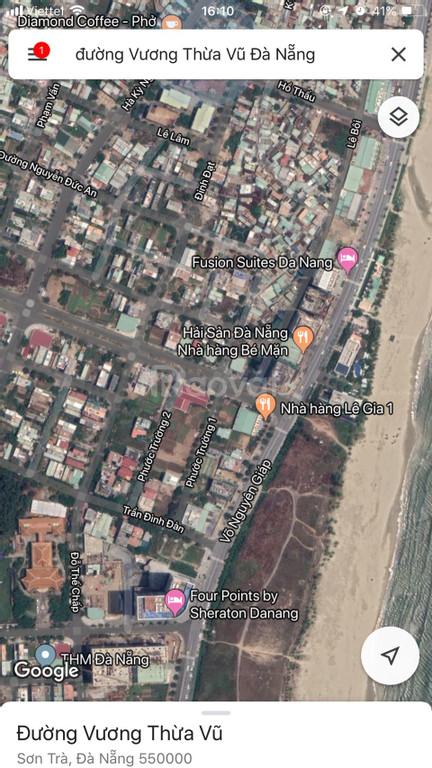 Bán gấp 90 m2 đất biển đường Vương Thừa Vũ, Đà Nẵng gần biển (ảnh 6)