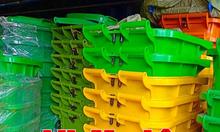 Gía thùng rác y tế 120 lít bao nhiêu,thùng rác y tế 240 lít vàng