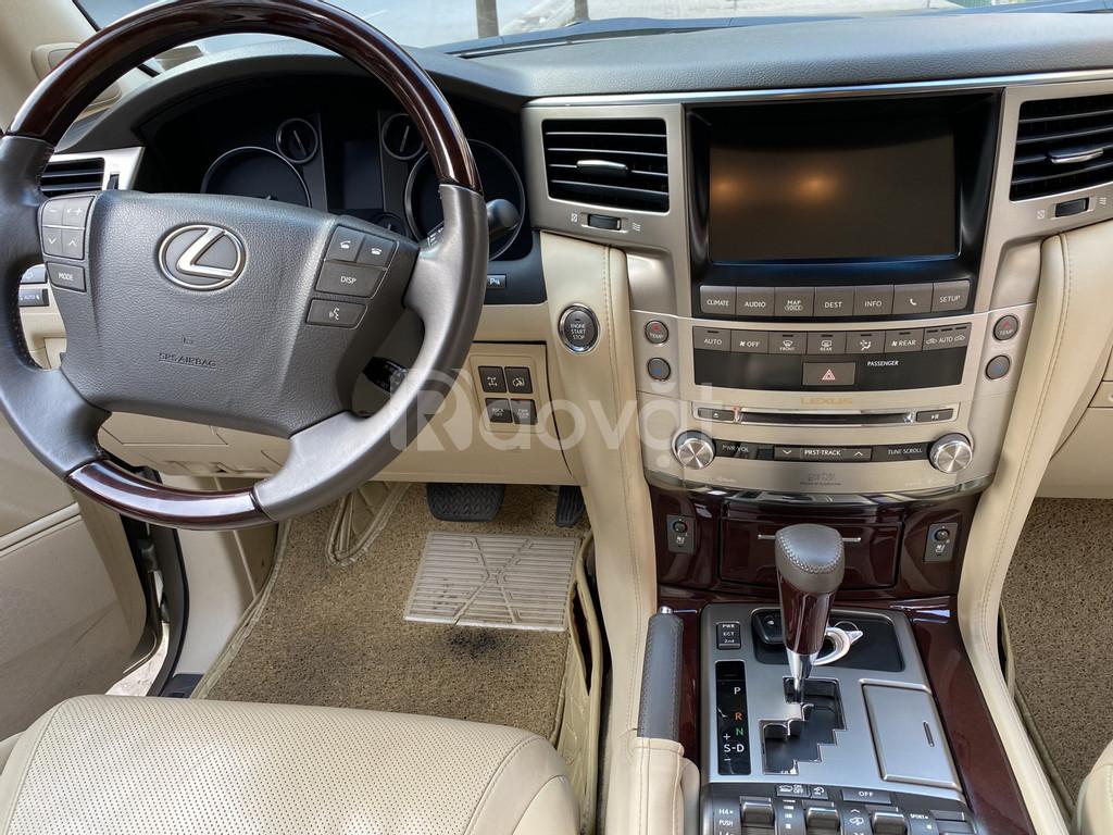 Bán Lexus LX570 nhâp Mỹ, màu vàng, sản xuất 2014, đăng ký 2016