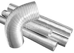 Ống gió bằng nhôm dùng hút khói trong công nghiệp