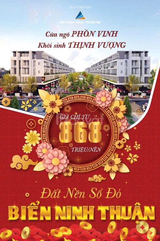 Sự tiềm năng phát triển đất nền sổ đỏ gần biển Cà Ná – Ninh Thuận