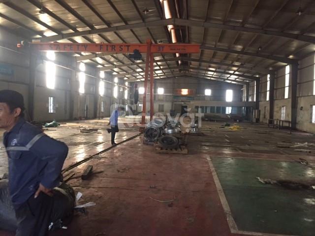 Cần bán nhà xưởng diện tích 921m2 KCN Nam Từ Liêm Hà Nội