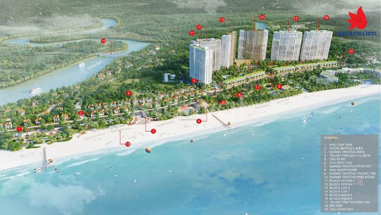 Dự án căn hộ biển Ray De Manor nhận giữ chỗ chỉ 20 triệu
