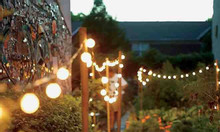 Dây đèn trang trí ngoài trời - Bộ dây đui E27