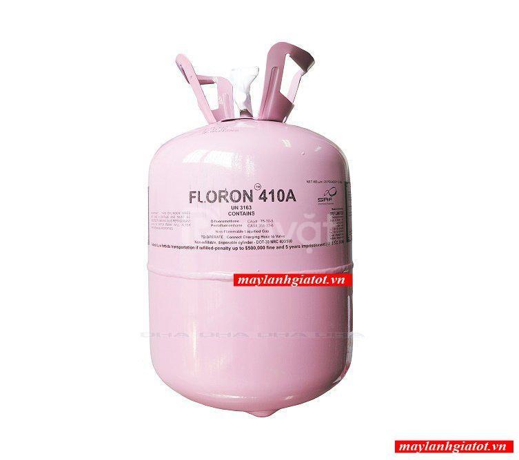 Đại lý phân phối gas lạnh 410 Floron bình 11.3kg - Điện máy Thành Đạt