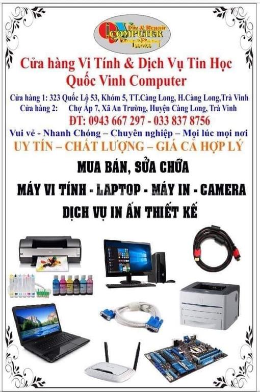Mua bán, sữa chữa máy tính PC, laptop, máy văn phòng