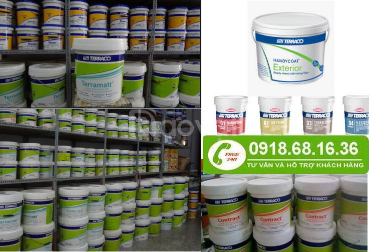Nhà cung cấp  sơn phủ chống thấm terraco flexicoat thùng 20kg