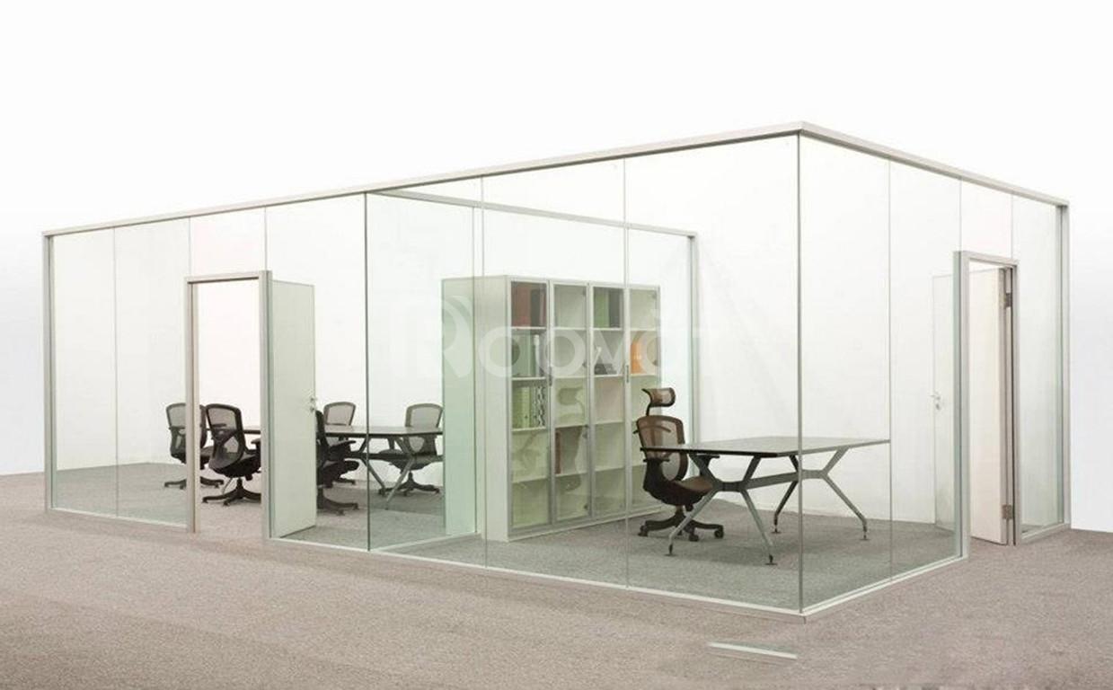 Vách kính văn phòng giải pháp mới cho mọi công trình
