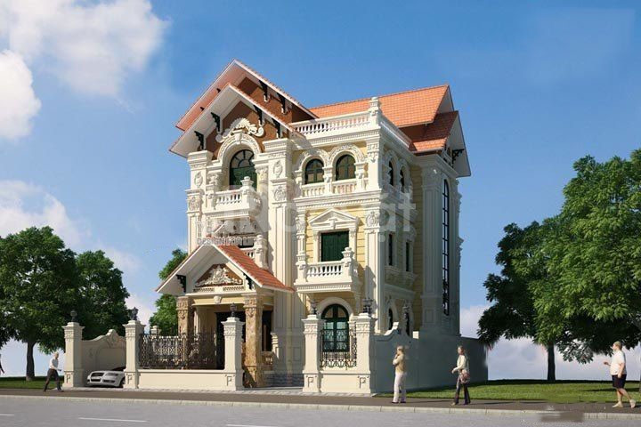 Thiết kế nhà ống, thiết kế nhà biệt thự tại Đông Anh - Hà Nội (ảnh 6)