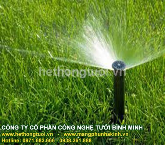 Hệ thống tưới sân vườn,béc phun tưới cỏ, béc phun tưới cây