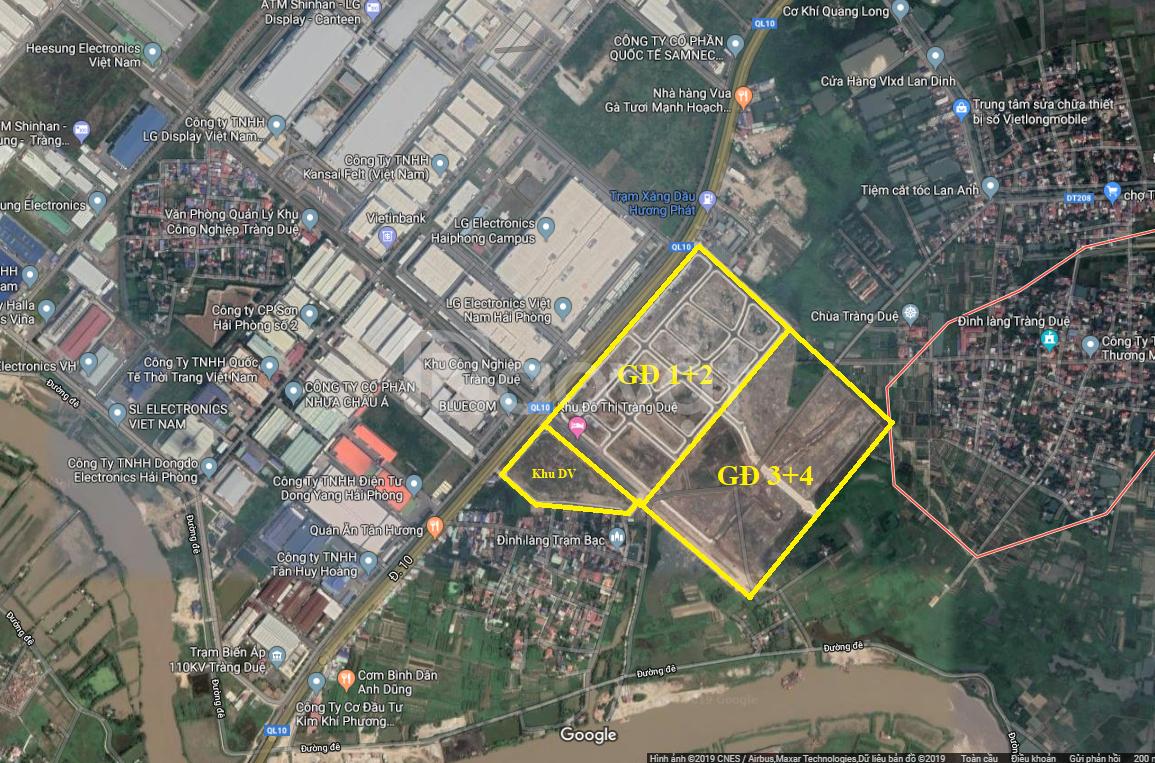 Đất nền mặt đường QL 10 Hải Phòng 180m2 giá chỉ 2,3 tỷ