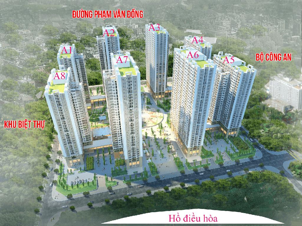 Căn hộ số 04 tòa A6, tầng cao chung cư An Bình City