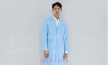 Công ty may áo choàng bác sỹ theo mẫu rẻ, đẹp, chất lượng