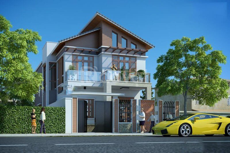 Thiết kế nhà ống, thiết kế nhà biệt thự tại Đông Anh - Hà Nội (ảnh 3)