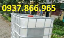 Thùng nhựa 1000L, tank nhựa 1000L, Bồn chứa nước