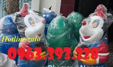 Thùng rác hình con thú vui nhộn, thùng rác hình con cá chép, thùng rác