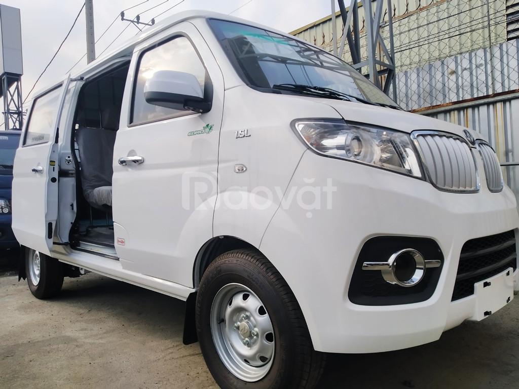 Bán tải Dongben van X30 2 chỗ, thiết kế du lịch, 80 triệu