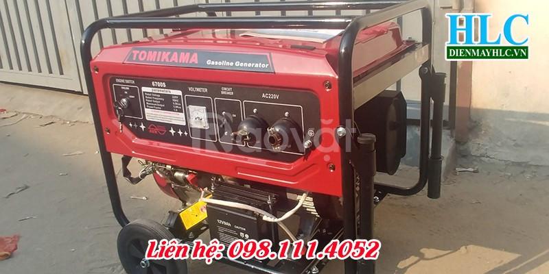 Mua máy phát điện chạy xăng Tomikama hàng chất lượng cao (ảnh 6)