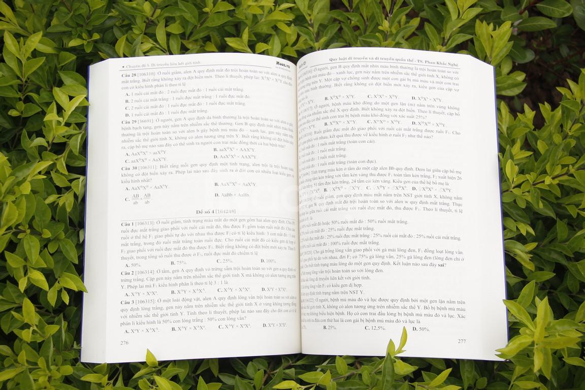 Sách ôn thi môn Sinh: Tự học quy luật di truyền và di truyền quần thế