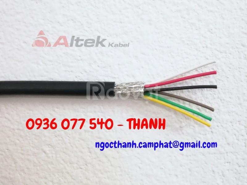 Cáp tín hiệu chống nhiễu 6 core, Altek kabel 6x0.22 mm2