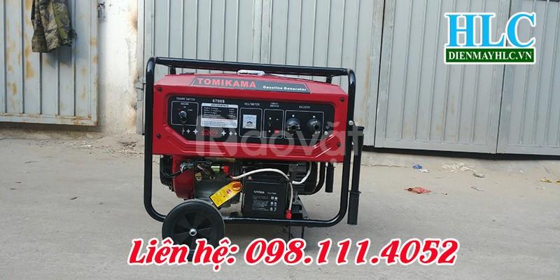 Mua máy phát điện chạy xăng Tomikama hàng chất lượng cao (ảnh 5)