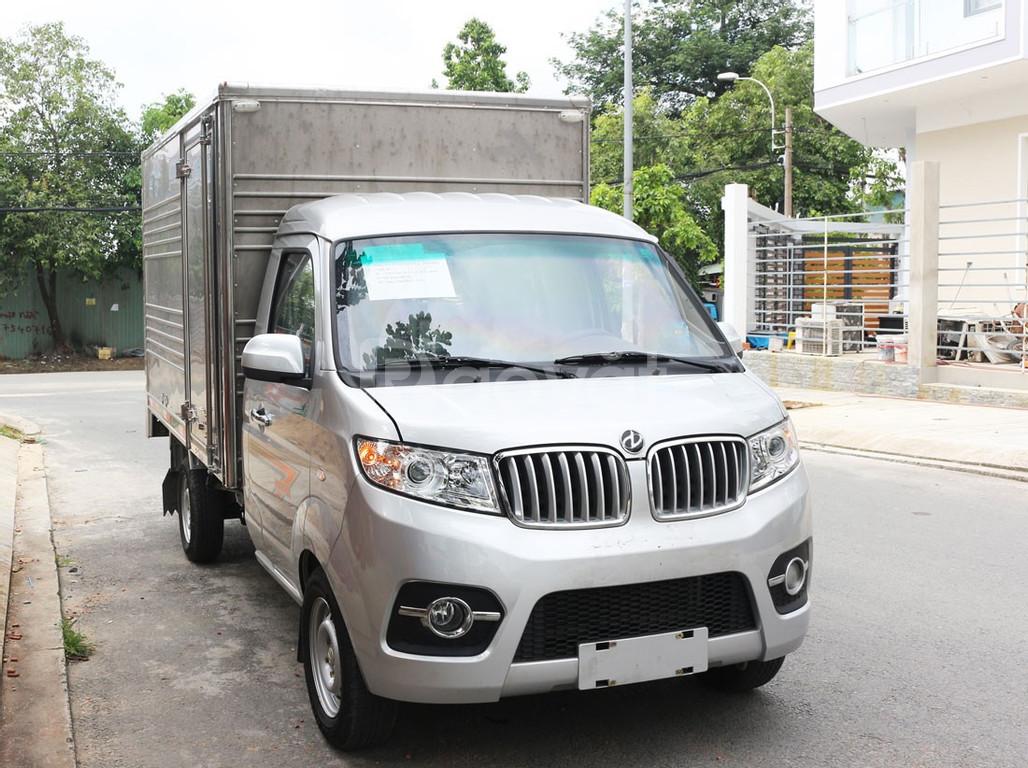 Xe tải dưới 1 tấn Dongben T30 thùng kín, động cơ công nghệ GM - Mỹ