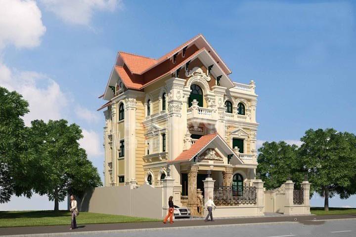Thiết kế nhà ống, thiết kế nhà biệt thự tại Đông Anh - Hà Nội (ảnh 5)