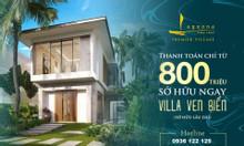Shop villa biển sổ hồng lâu dài tại Vũng Tàu một lần đầu tư
