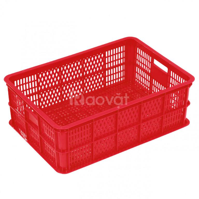 Rổ nhựa công nghiệp đa dụng E1061