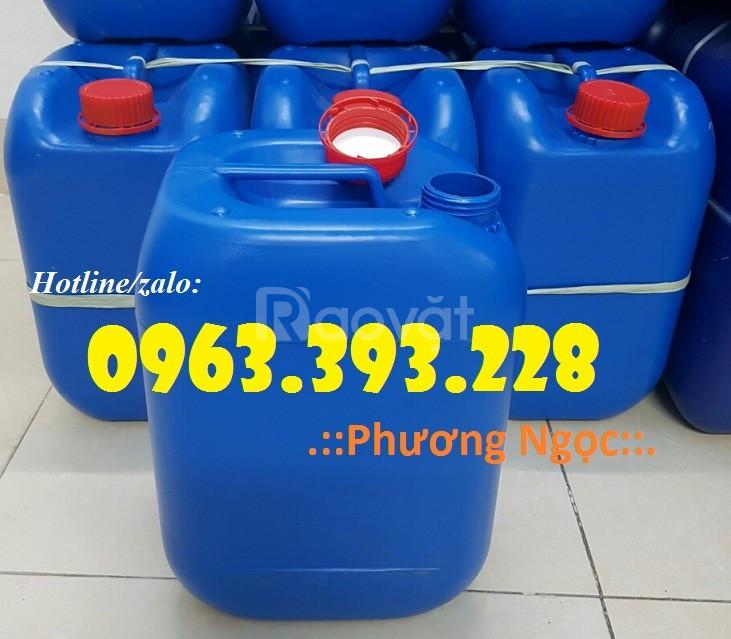 Can nhựa 10 Lít đựng hóa chất, can nhựa đựng xăng dầu