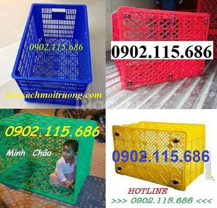 Sọt nhựa chở hàng, sọt nhựa giao hàng, thùng nhựa chở hàng