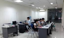 Cho thuê văn phòng 100m2 mặt phồ Trần Thái Tông, Cầu Giấy.