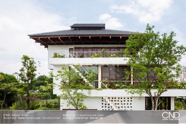 Top 5 mẫu Thiết kế biệt thự sân vườn đẹp