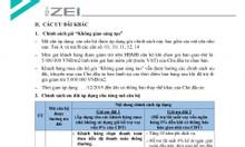 Căn hộ cao cấp The Zei-Bàn giao thô chỉ với 30tr/m2-căn hộ 2PN/92m2