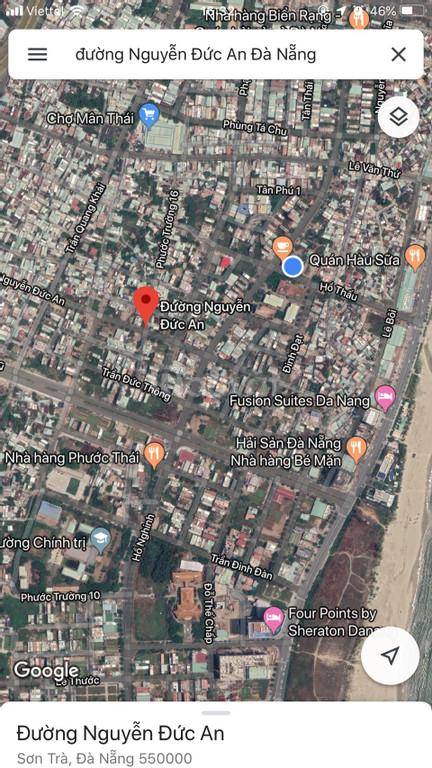 Bán lô góc 2 MT đường Nguyễn Đức An, Sơn Trà, Đà Nẵng 200m2 giá rẻ (ảnh 5)