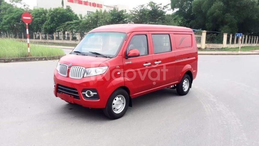 Xe tải van dongben 5 chỗ vào thành phố 24/24 model 2020