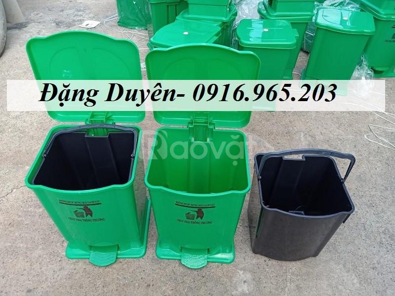 Giảm giá thùng rác giá rẻ 20l tại kho TP HCM