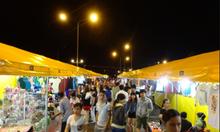 Khu Thuận An ban đêm người dân hòa đồng ra đường đi dạo