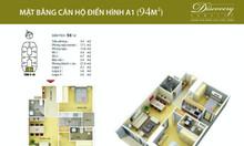 Chính chủ bán căn hộ chung cư tại Discovery Complex 94m2