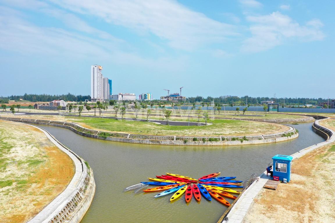 One World Regency Nam Đà Nẵng, view sông Cổ Cò, hạ tầng hoàn thiện
