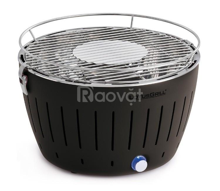 Bếp nướng than hoa inox không khói Nam Hồng BN02 bếp nướng để bàn hàng