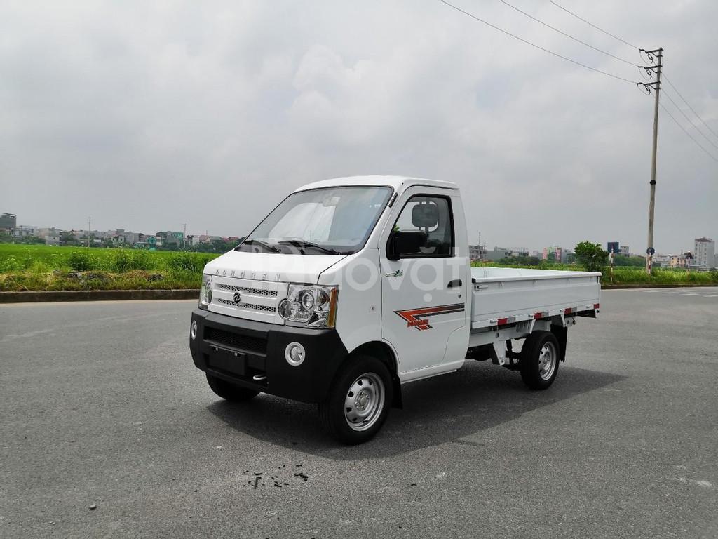 Bán xe tải dongben 870kg, khuyến mãi 100% phí trước bạ