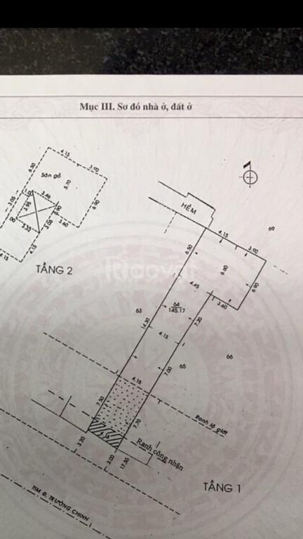 Cần tiền bán gấp hoặc cho thuê nhà MT 1Trường Chinh Phường 12 Tân Bình