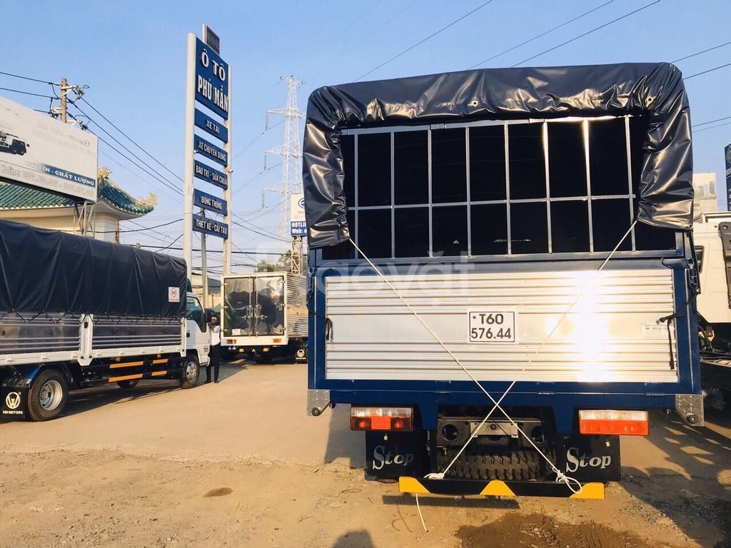 Giá xe tải 7 tấn thùng bạt 6m2 máy hyundai  Trả trước 150tr nhận xe