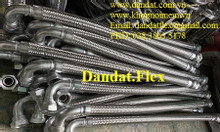Khớp nối mềm inox lắp ren - Khớp nối mềm chống rung - Ống mềm inox
