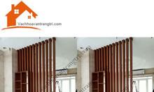 Giá  lam gỗ trang trí - các mẫu lam phòng khách 2020